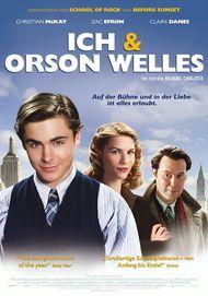 """Filmplakat für """"Ich & Orson Welles"""""""