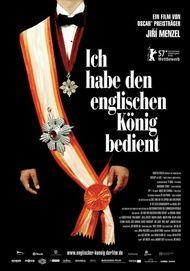 """Filmplakat für """"Ich habe den englischen König bedient"""""""