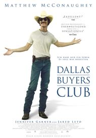 "Filmplakat für ""Dallas Buyers Club"""