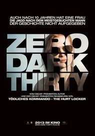 "Filmplakat für ""ZERO DARK THIRTY"""