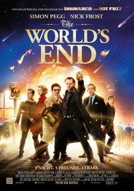 "Filmplakat für ""The World's End"""
