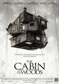 "Filmplakat für ""THE CABIN IN THE WOODS"""