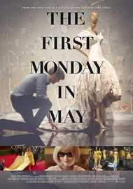 "Movie poster for ""THE FIRST MONDAY IN MAY"""