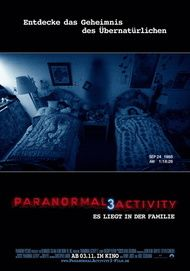 "Filmplakat für ""Paranormal Activity 3"""