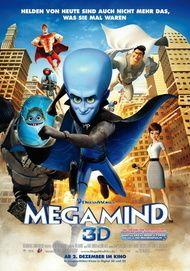 """Filmplakat für """"Megamind"""""""