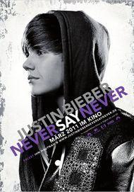 """Filmplakat für """"Justin Bieber: Never Say Never"""""""