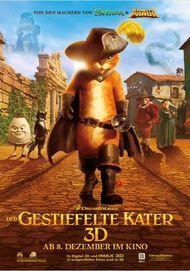 """Filmplakat für """"Der gestiefelte Kater"""""""