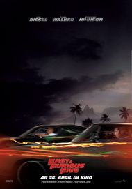 "Filmplakat für ""Fast & Furious Five"""