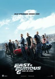 "Filmplakat für ""FAST & FURIOUS 6"""