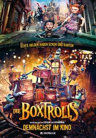 """Filmplakat für """"Die Boxtrolls"""""""