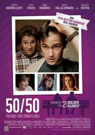 """Filmplakat für """"50/50 - Freunde fürs (Über)Leben"""""""