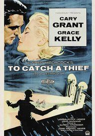 "Movie poster for ""To Catch A Thief"""