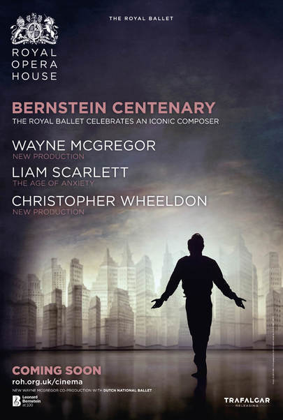 "Movie poster for ""BERNSTEIN CENTENARY - Royal Opera House 2018"""