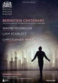 "Movie poster for ""BERNSTEIN CENTENARY - Royal Opera House 2018"""