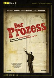 "Movie poster for ""Der Prozess"""