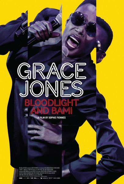 "Movie poster for ""GRACE JONES: BLOODLIGHT AND BAMI"""