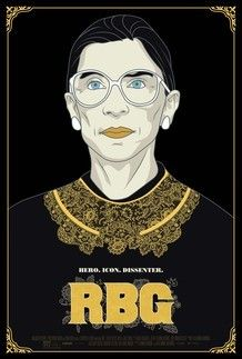 "Movie poster for ""RBG"""