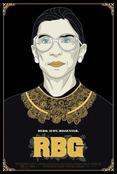 """Movie poster for """"RBG"""""""