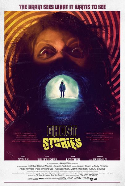 """Movie poster for """"GHOST STORIES"""""""