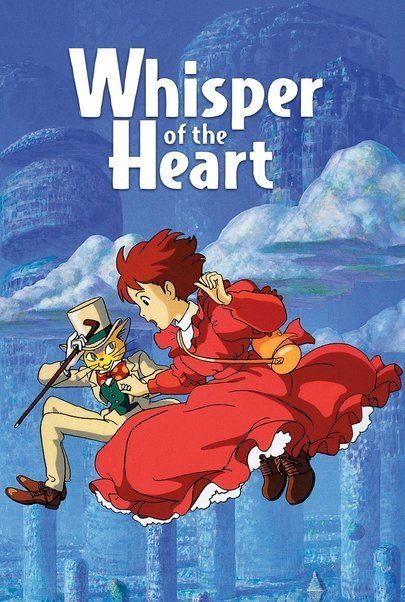 "Movie poster for ""WHISPER OF THE HEART"""