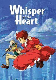 "Movie poster for ""WHISPER OF THE HEART"""