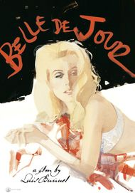 "Movie poster for ""BELLE DE JOUR"""