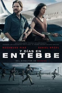 """Movie poster for """"7 DAYS IN ENTEBBE"""""""