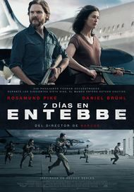 "Movie poster for ""7 DAYS IN ENTEBBE"""