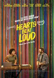 "Movie poster for ""HEARTS BEAT LOUD"""