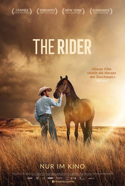 """Filmplakat für """"The Rider"""""""