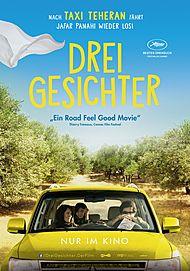 """Filmplakat für """"Drei Gesichter"""""""