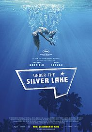 "Movie poster for ""Under the Silver Lake"""