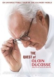 "Movie poster for ""THE QUEST OF ALAIN DUCASSE"""