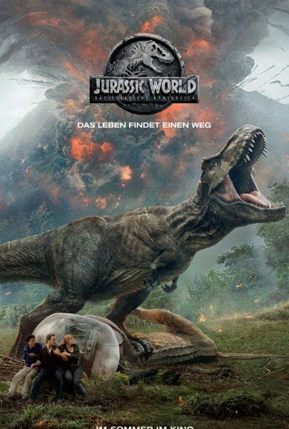 """Filmplakat für """"Jurassic World: Das gefallene Königreich"""""""