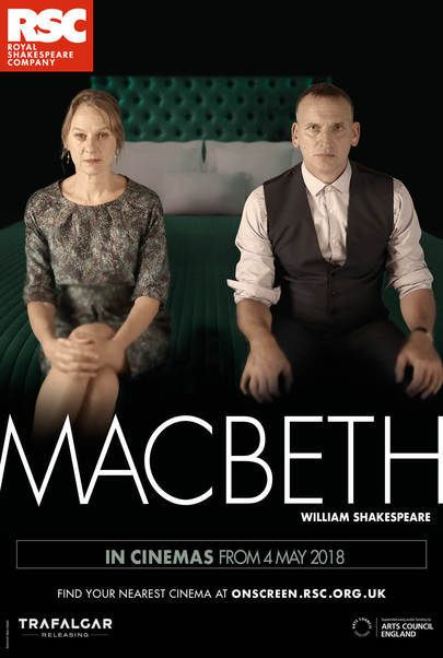 "Movie poster for ""MACBETH - Royal Shakespeare Company Live 2018"""