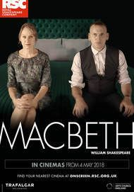 """Movie poster for """"MACBETH - Royal Shakespeare Company Live 2018"""""""
