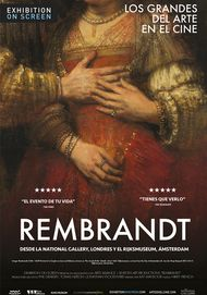 """Movie poster for """"REMBRANDT - Exhibition on Screen"""""""