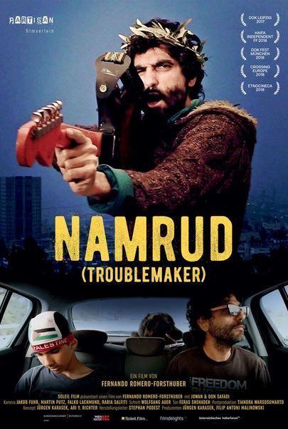 """Filmplakat für """"Namrud (Troublemaker)"""""""