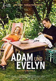 "Movie poster for ""Adam und Evelyn """
