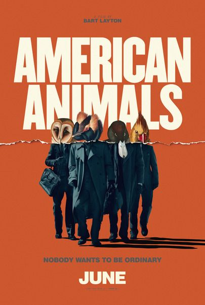 """Movie poster for """"AMERICAN ANIMALS"""""""