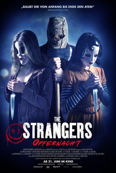 """Filmplakat für """"The Strangers: Opfernacht"""""""