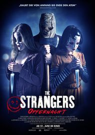 "Movie poster for ""The Strangers: Prey at Night"""