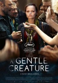 "Movie poster for ""A GENTLE CREATURE"""