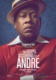 "Movie poster for ""THE GOSPEL ACCORDING TO ANDRE"""