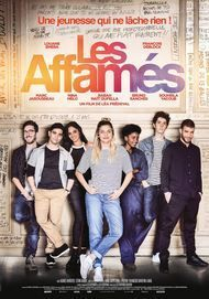 "Movie poster for ""LES AFFAMES"""