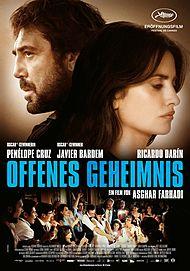 """Movie poster for """"Todos Lo Saben"""""""