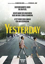 """Filmplakat für """"YESTERDAY"""""""