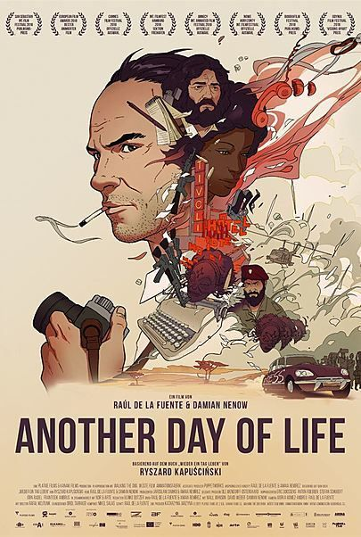 "Movie poster for ""ANOTHER DAY OF LIFE"""