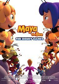 "Movie poster for ""MAYA THE BEE: THE HONEY GAMES"""