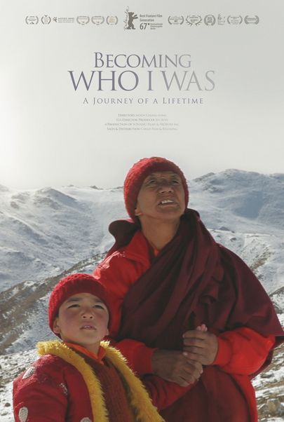 """Movie poster for """"BECOMING WHO I WAS"""""""